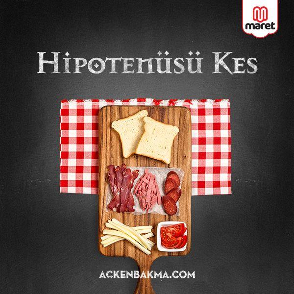 Hipotenüsü Kes - Nasıl Yaparım? http://ackenbakma.com/sandvic/hipotenusu-kes#nasil-yaparim