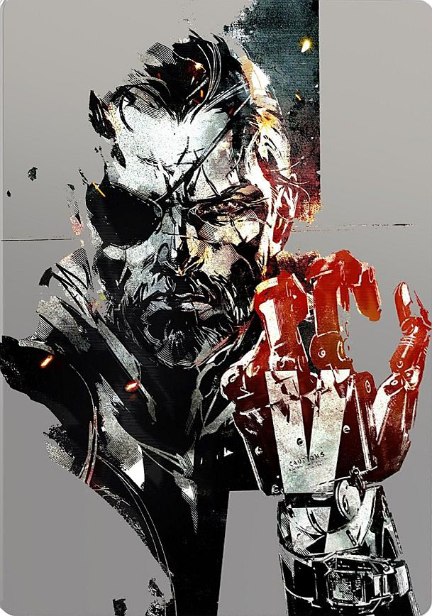 Metal Gear Solid V: The Phantom Pain (Steelbook) / PlayStation 4 / Konami / 2015
