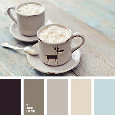 бежевый, коричневый, кремовый, оттенки зимы, оттенки коричневого, палитра для зимы 2016, палитра зимы, серо-голубой, серый, цвета зимы, цветовое решение для зимы, черный, шоколадный.