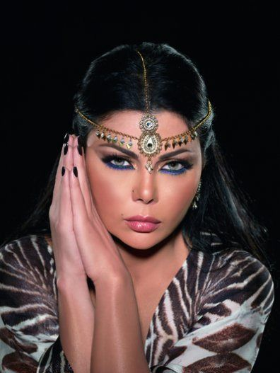 Haifa Wehbe, is a Lebanese model, actress, and singer