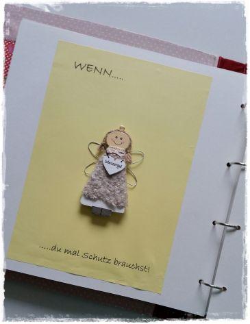 DIY - Wenn-Buch ... Wenn du mal Schutz brauchst