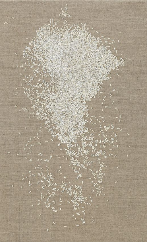 Rice, Uncooked, 2010 by Helene Appel