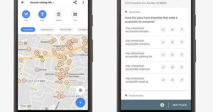 Google Maps crowdsources info for wheelchair-accessible places  https://www.engadget.com/2017/07/06/google-maps-crowdsource-wheelchair-accessible/