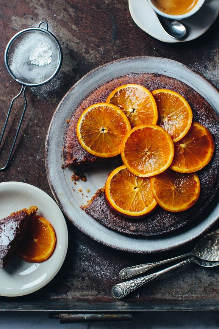 Blood Orange Almond Cake (Vegan & Gluten Free)