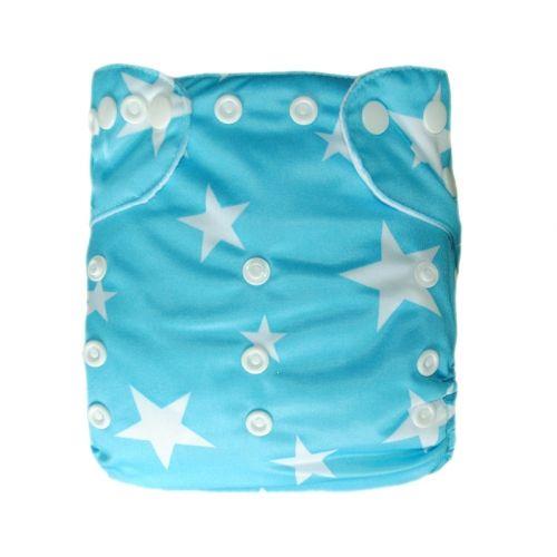 Kawaii Baby One Size Printed Snap Pocket Cloth Diaper