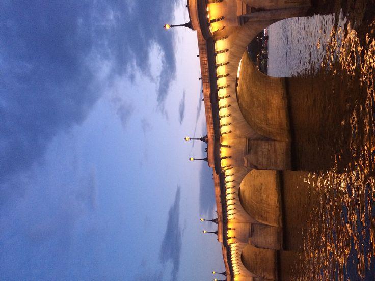 Tonight at Pont Neuf Paris - @LaVieAnnRose Instagram