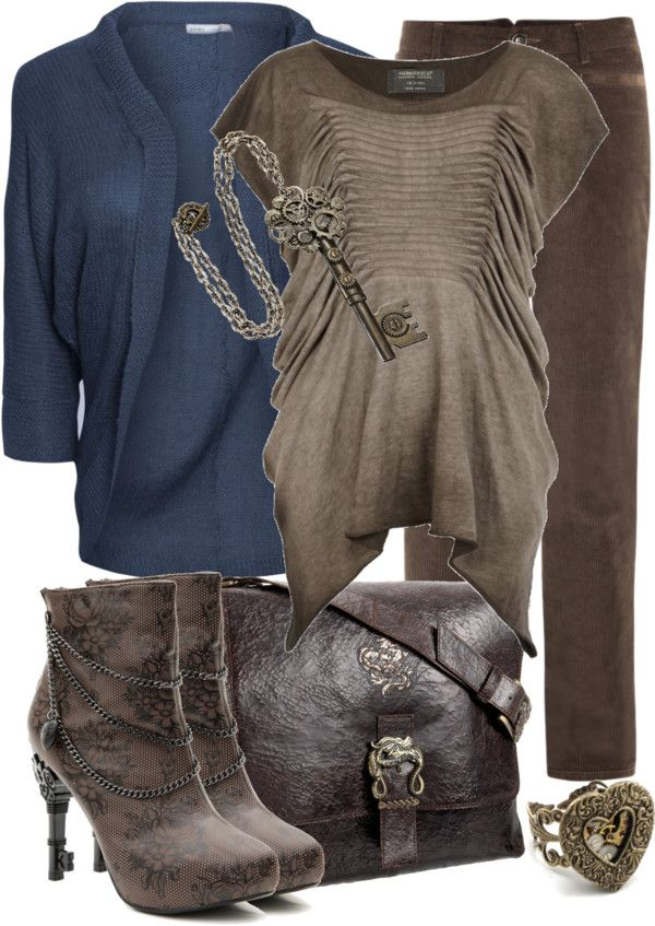 """""""Everyday Steampunk"""" by aannggiiee ❤ liked on Polyvore"""