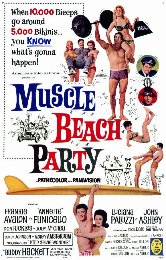Muscle Beach Party 11x17 Movie Poster (1964)