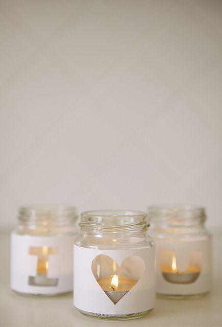 I love you! Baby food jar ideas