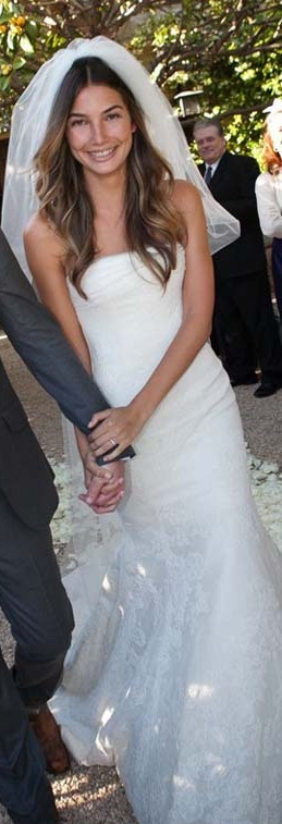 Lily Aldridge's Vera Wang wedding dress. | wedding | Pinterest
