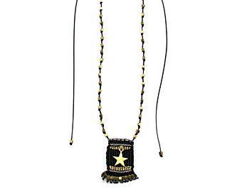 Crochet necklace, Macrame necklace, Boho chic jewelry. For more details visit www.etsy.com/shop/FrolicStones