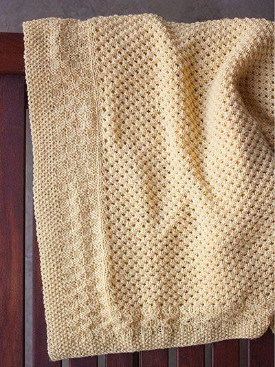 Buttercup Blanket Knit Pattern