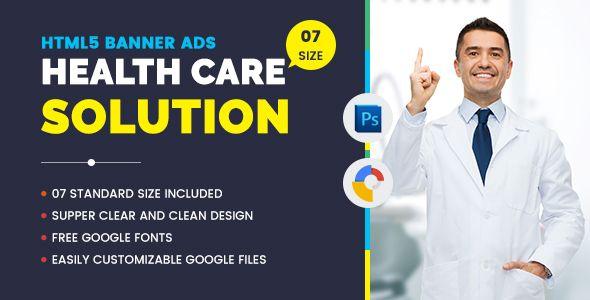 Medical Agency Banners HTML5 - Google Web Desinger