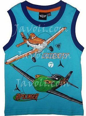 Disney Jungen Planes Flugzeg T-Shirt Dusty Gr.7Jahre 128 cm