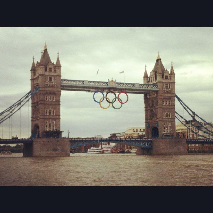 Olympic Rings - Tower Bridge London, England Photo by: Danielle Yaghdjian