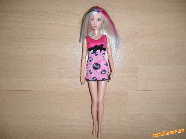 panenka barbie rock myslím mattel krásné vlasy