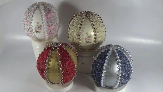 Foam balls decoration