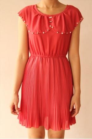 Clara Red Dress