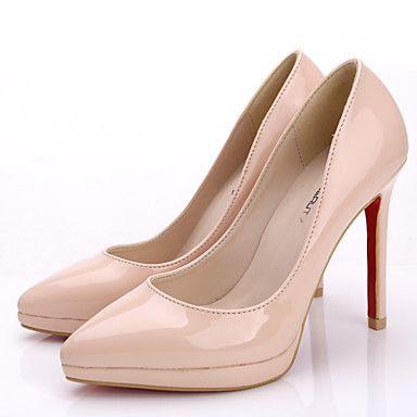 Pantofi pentru femei - Piele Originală - Toc Stiletto - Tocuri / Vârf Ascuțit / Vârf Inchis - Pantofi cu Toc - Rochie / Party & Seară - 3956082 2016 – $44.99