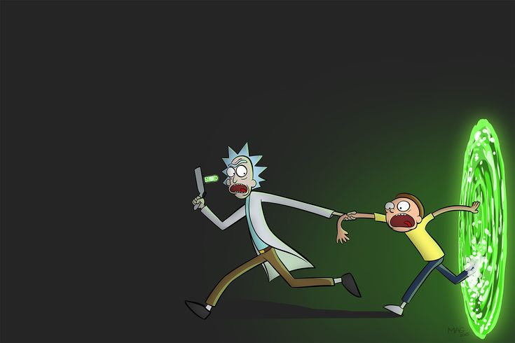 Wonderful Rick and Morty Wallpaper