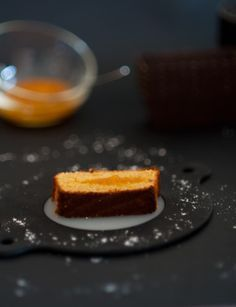 Cake financier à l'orange de Philippe Conticini : 3ème version (recette originale) - Et si c'était bon...
