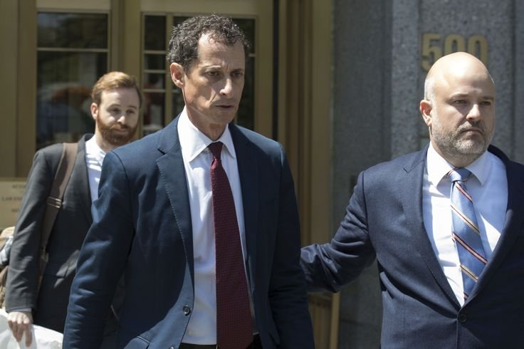 NEW YORK (AP) — It seemed as if Anthony Weiner had hit rock bottom when he resigned from Congress in 2011.