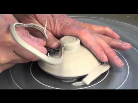 Throwing / Making a Porcelain Teapot #2 with Hsin-Chuen Lin