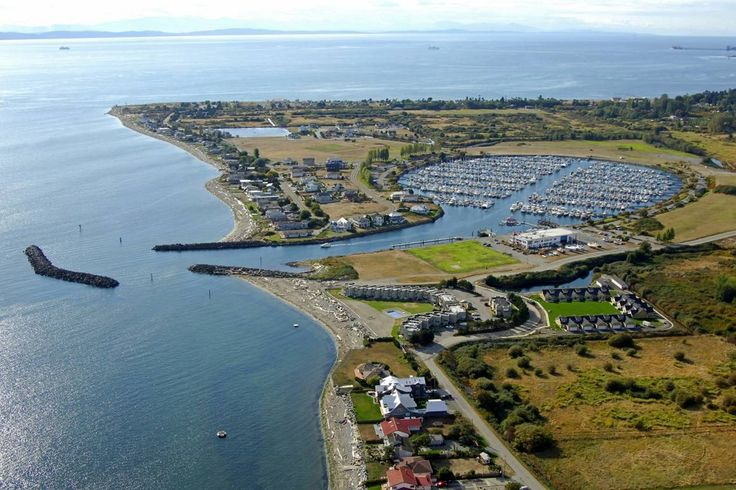 Point Roberts, Washington  A small piece of land that belongs to the USA but can only access it from Twsawwassen BC