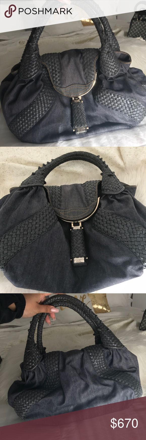✨Fendi Spy Bag✨ Lightly used (good condition) AUTHENTIC Fendi Bags Shoulder Bags