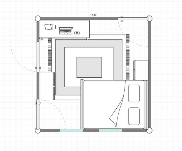 11x11 Room Layout Room Layout Layout Floor Plans