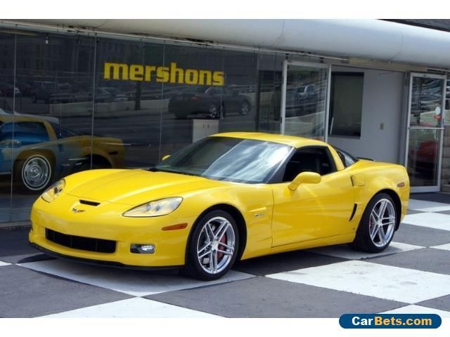 2006 Chevrolet Corvette Z06 Coupe 2-Door #chevrolet #corvette #forsale #unitedstates