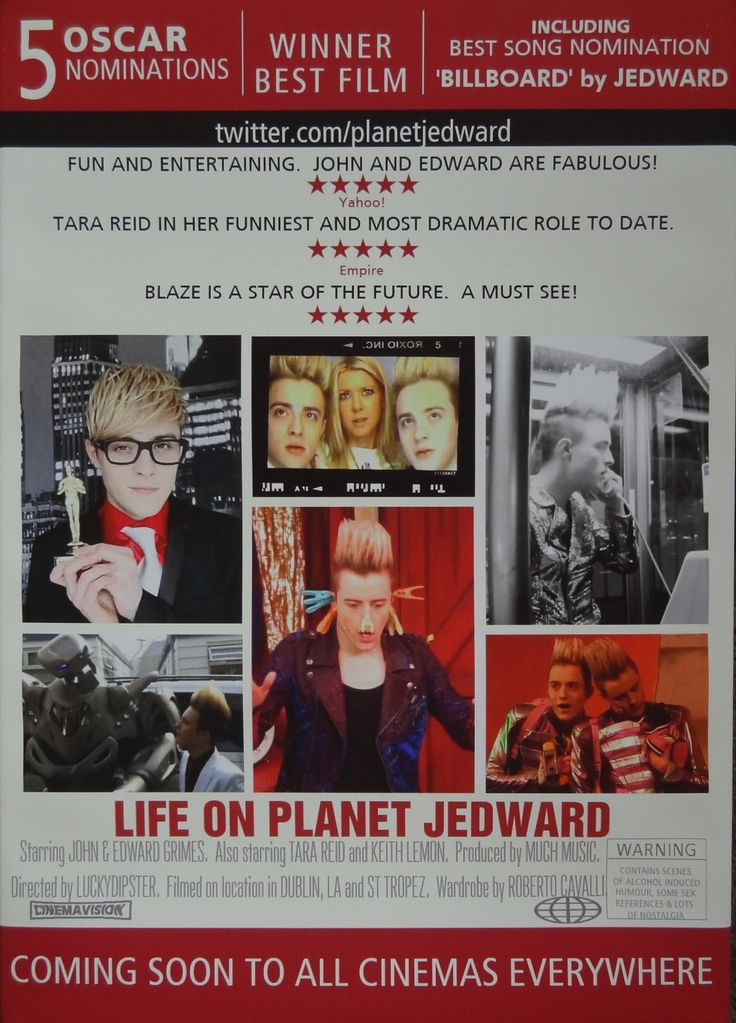 Life On Planet Jedward.