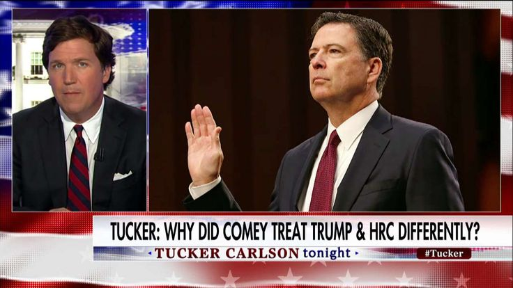 Tucker: Why Did Comey Treat Trump & Clinton Differently?