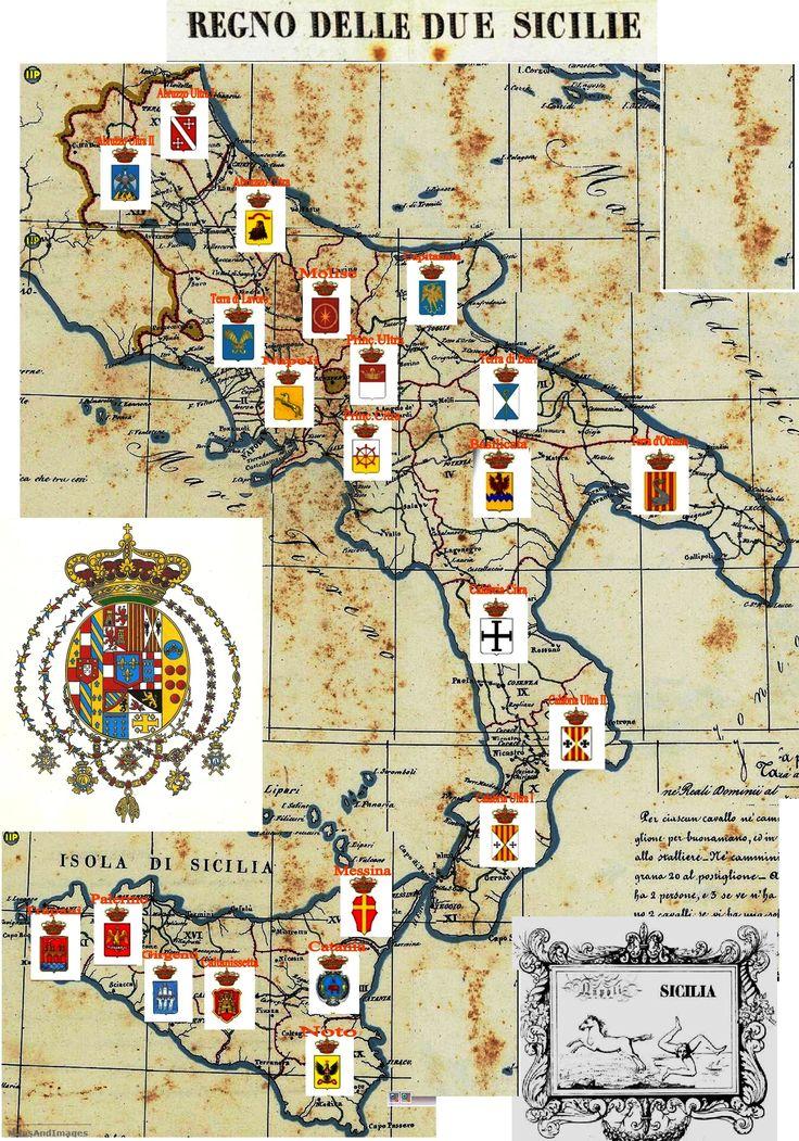 Provincie del Regno delle Due Sicilie