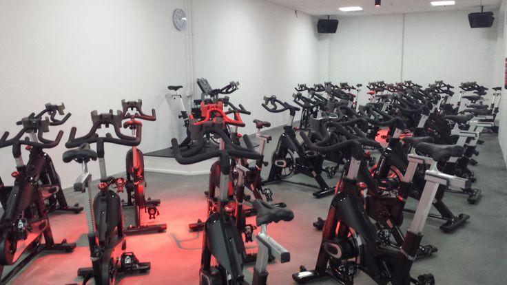 Sala de ciclo @AltaFit Gimnasios #Lugo