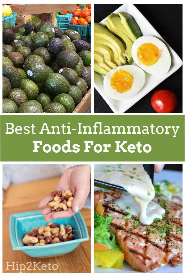 The Best Anti Inflammatory Foods For Keto Diets And The Ones You Should Avoid Anti Inflammatory Recipes Best Anti Inflammatory Foods Keto Diet Recipes