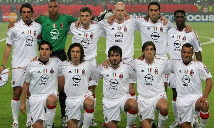 In 2005, AC Milan literally had 11 legends in their starting XI.