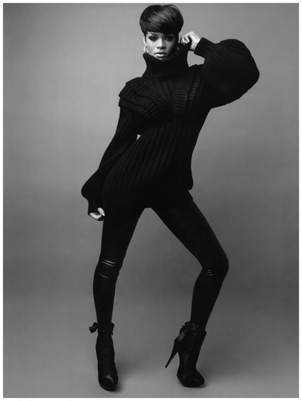<3 the fendi sweater |Rihanna for  Essence Magazine (Sept. 2008)