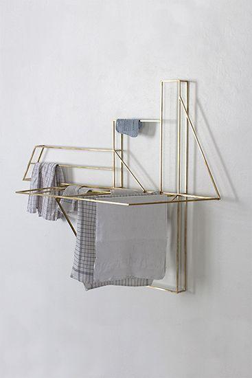 // F O L D W O R K // STUDIO BERG drying/cloth rack