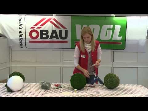 ÖBAU Vogl Basteltipp - Mooskugel - YouTube