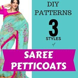 how to sew sari petticoats