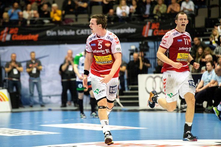 Aalborg Håndbold slog torsdag aften KIF Kolding København i Jutlander Bank Arena. Foto: Laura Guldhammer