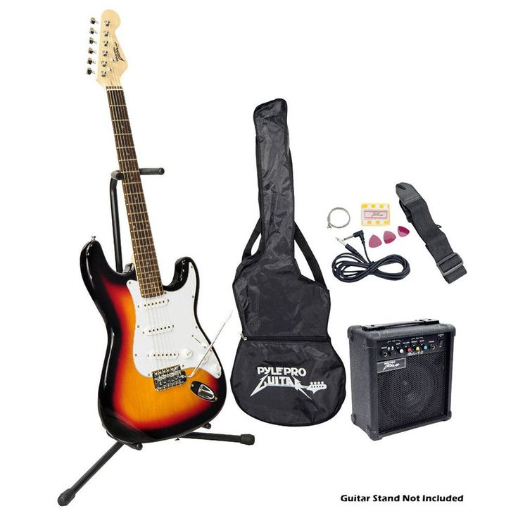 Beginner Electric Guitar Package - Sun Burst