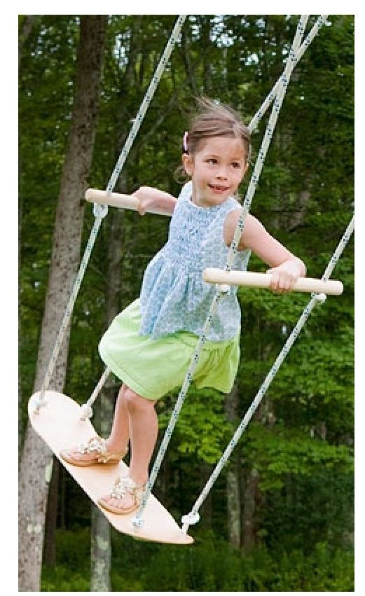 Skateboarding swing... Ill be an awesome mom!(;