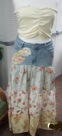 80 best images about DIY Skirt From Jeans on Pinterest | Denim ...