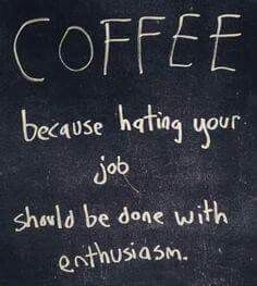 Coffee makes it better!