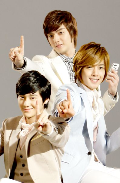 Boys Over Flowers ♥ Kim Joon as Song Woo Bin ♥ Kang Han Byul as young Joon Pyo ♥ Kim Hyun Joong as Yoon Ji Hoo,