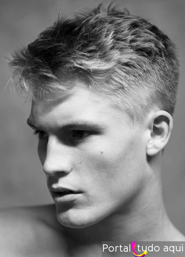 Top 10 tendências de cortes de cabelo masculino para 2014 | Portal Tudo Aqui