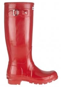 I really want red......Hunter Original Gloss Wellington Boots - Pillar Box Red £59