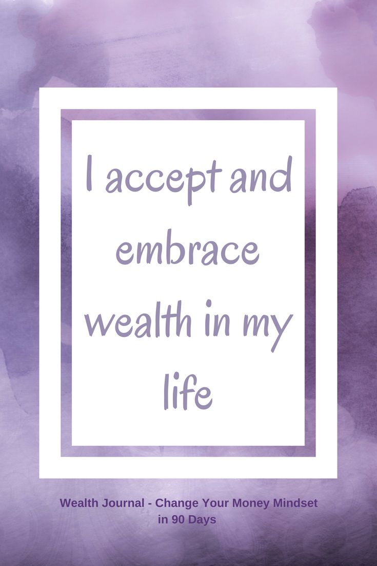 #10 Wealth affirmation to help you change your money mindset which will help you manifest more abundance using the Law of Attraction. Use the affirmation and see what it brings up for you, then work on eliminating any limiting beliefs. From the Wealth Journal: Change Your Money Mindset in 90 Days ~ available on Lulu, Amazon & Etsy